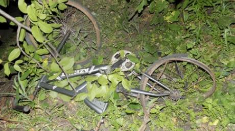 Загубил 2 жизни: в Подольске мертвецки пьяный водитель сбил беременную велосипедистку, девушка не выжила (кадры)