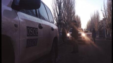 ОБСЕ: 19 февраля представители миссии насчитали 23 залпа артиллерии, исходящих из Донецка