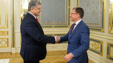 Петр Порошенко, президент Украины, политика, новости, Курт Волкер, Северный поток-2, Донбасс