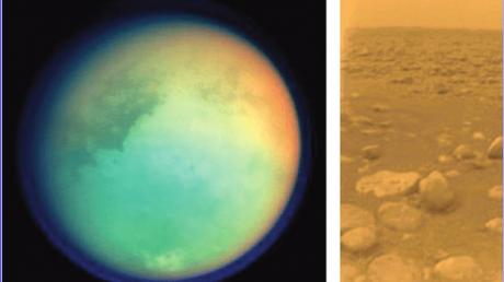 Титан, Сатурн, Органика, Вещества, Дюны, Обнаружены, Открытие, Космическое излучение, Космос, Луна, Спутник, Жизнь