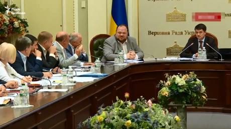 Украина, Рабинович, Разумков, Политика, Заседание, Верховная Рада.