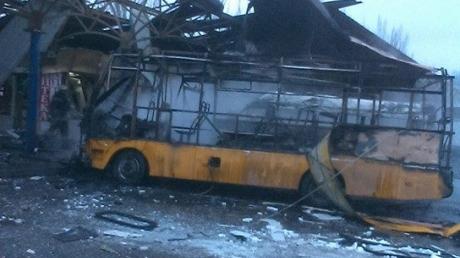 При обстреле автостанции в Донецке погибли четыре человека, пятеро ранены, - СМИ