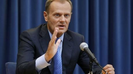 Президент Европейского Совета Туск надеется договориться о миротворцах ООН для Украины