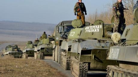 Штаб: боевики гоняют технику туда сюда с целью ввести в заблуждение миссию ОБСЕ