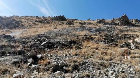 Отступающие в Карабахе ВС Армении нанесли ракетный удар по Азербайджану, кадры