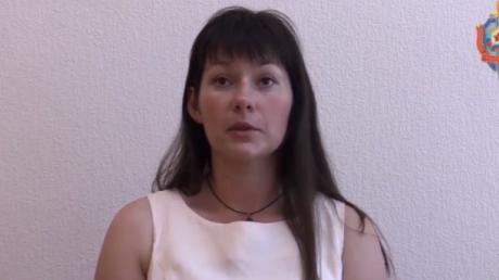 """Экс-следователь по особо важным делам, подполковник Национальной полиции убежала из Украины к террористам """"ЛНР"""" - кадры"""