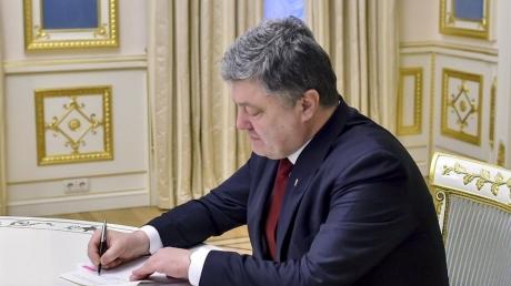 Порошенко принял важнейшее решение насчет моратория на землю в Украине