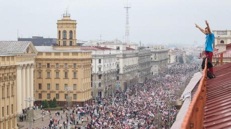 Такого Беларусь еще не видела: против Лукашенко вышли десятки тысяч человек, кадры с высоты птичьего полета