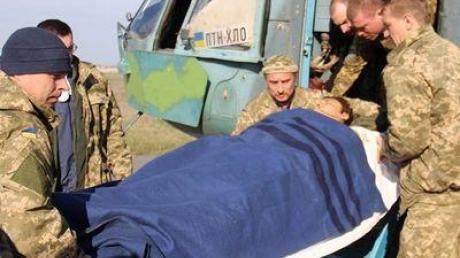 В армии показали, как проходит эвакуация раненных из Авдеевки