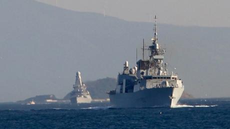 Новости дня, новости Украины, военные учения, флот, корабли, НАТО, NATO, OTAN, эсминец, фрегат, Босфор, Турция, пролив, Одесса, Sea Breeze