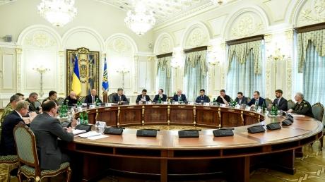 СНБО, Петр Порошенко, новости, Украина, санкции, Азовское море, моряки, пленные, выборы на Донбассе