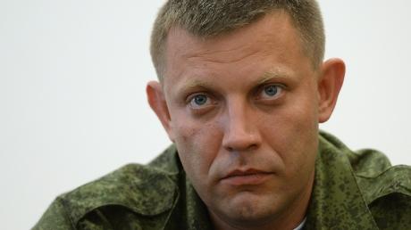 Захарченко: Сегодня ДНР передаст Киеву военнопленных