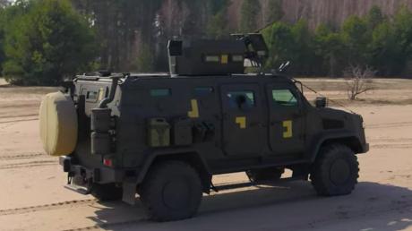 Козак-2М1, броневик, всу, оос, вооружение, таран