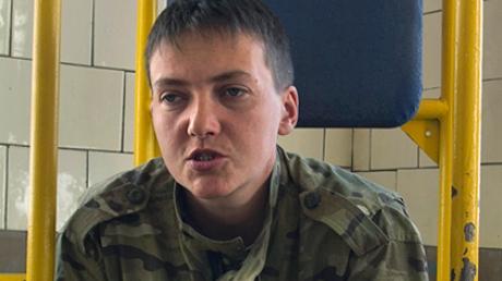 Савченко прекратила двухмесячную голодовку