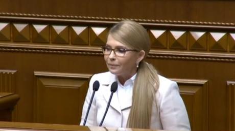 Парубий, Тимошенко, трибуна, Верховная Рада, заявление, наші гроші, коррупция