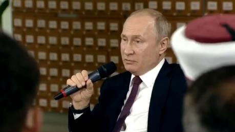 Видео: Путин в Крыму заговорил на украинском и озвучил ультиматум Киеву