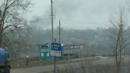"""""""Азов"""": под Широкино ВСУ накрыли террористов """"Ураганами"""""""