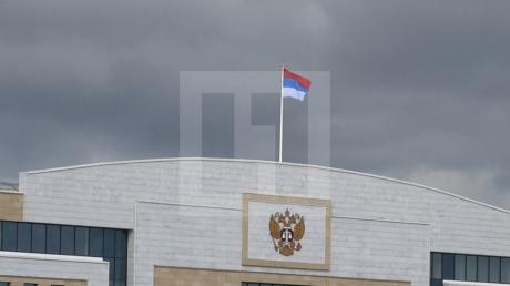 Путин в ярости: на здании суда в Казани вывесили перевернутый флаг России