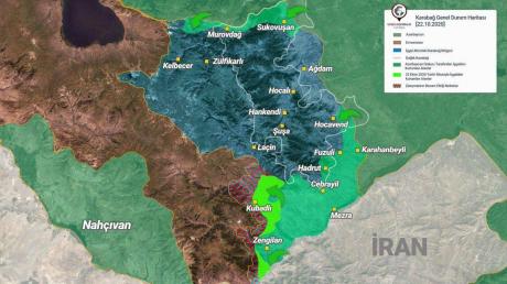 Войска Азербайджана прорвали линию обороны Армении на юге Карабаха - еще 13 сел освобождены