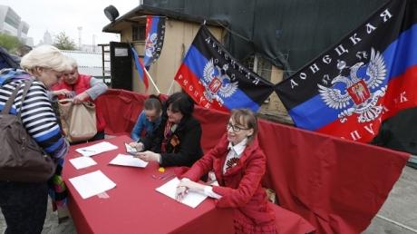 Главари самопровозглашенной ДНР метят на проведение выборов за пределами оккупированной территории