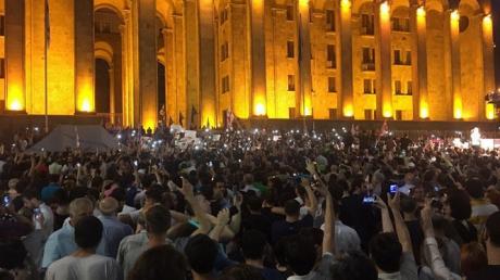 Новости дня, новости Грузии, новости Тбилиси, новости России, новости Москвы, протест, митинг, возмущение, происшествие