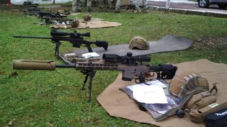 Оккупанта ждут тяжелые времена: бойцам ООС на Донбасс передали 450 новейших снайперских винтовок