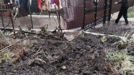 Еленовка под ударом: били по КПП и домам местных жителей