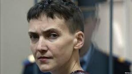 Тьма полиции, оружия и ОМОН: Савченко привезли в суд Донецка для вынесения приговора