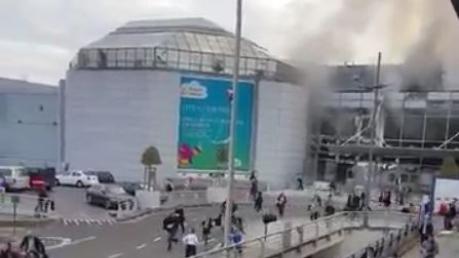 Два взрыва разнесли аэропорт Брюсселя: есть десятки жертв