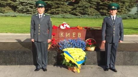 политика, москва, пограничники, город-герой киев, 9 мая, общество, видео, украина, россия