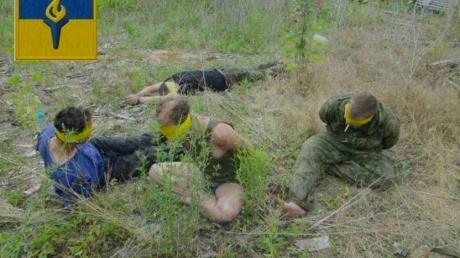 Пленение террористов под Желобком: кроме Агеева, все остальные были местными — опубликованы фото момента пленения террористов