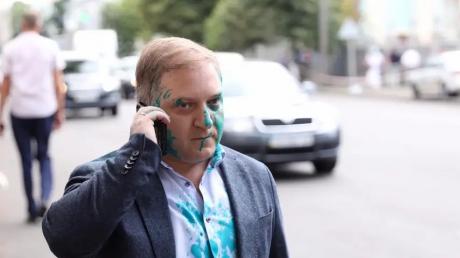 """Волошин рассказал свою версию нападения на него: """"Мне сказали, что зеленка в глаза была """"за суверенитет Украины"""""""