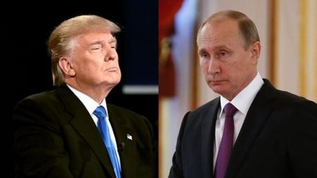 Одной рукой держит, а другой - бьет: в Сети появились эксклюзивные видеокадры, как президент Трамп небрежно приветствовал Путина