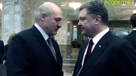 После минских переговоров Лукашенко согласился с Порошенко, что Путин ведет грязную игру