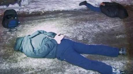 СБУ обнародовала видео задержания харьковских террористов