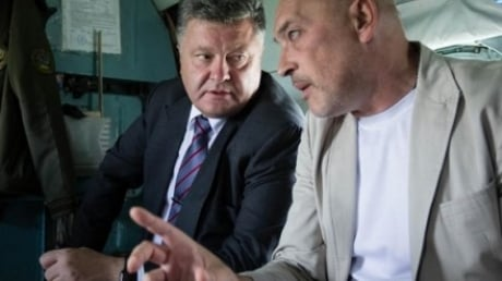 Порошенко обсудил с Тукой стратегические вопросы по Донбассу в ходе работы в Кабмине