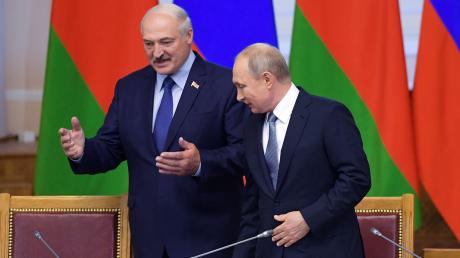 Лукашенко, Путин, встреча