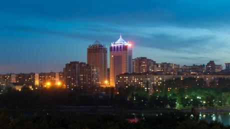 В Донецке ближе к полуночи прогремел взрыв, - очевидцы