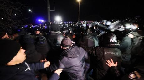 """""""Момент террора в Украине"""", - мировые СМИ о протестах в Новых Санжарах"""
