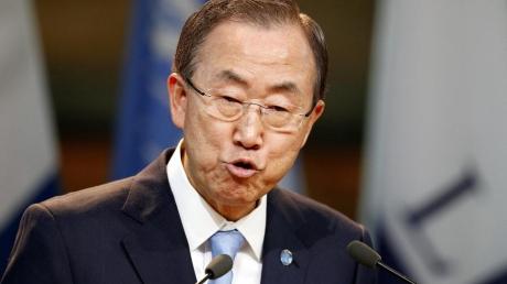 Пан Ги Мун: решение о вводе миротворцев в Донбасс будет решать Совбез ООН