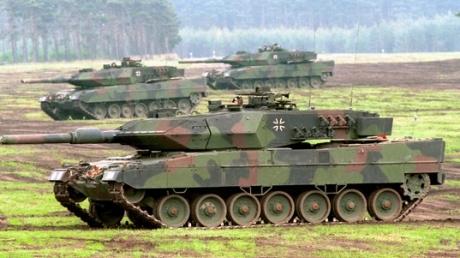 Германия может увеличить число танков из-за агрессии РФ в Украине
