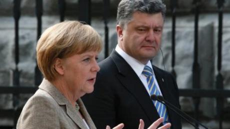 Порошенко завершил переговоры с Меркель и ждет диалога с Обамой