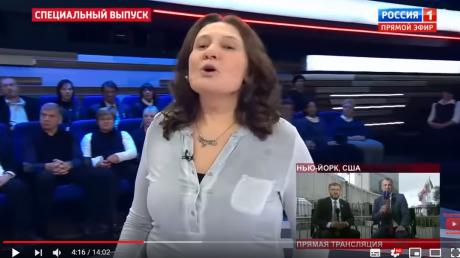 Монтян опозорилась в прямом эфире росТВ скандалом по Украине: видео опубликовано в Сети
