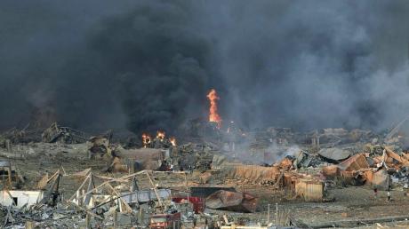 Датчики ядерных взрывов в Германии и Тунисе поймали сигналы от ЧП в Бейруте