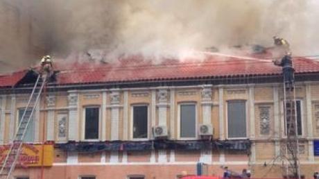 """Пожар в """"Вареничной """"Катюша"""" унес жизни двоих спасателей - СМИ"""
