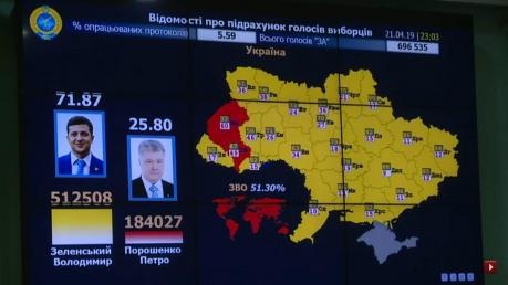 ЦИК, Центризберком, выборы президента Украины, новости, политика, Зеленский, Порошенко