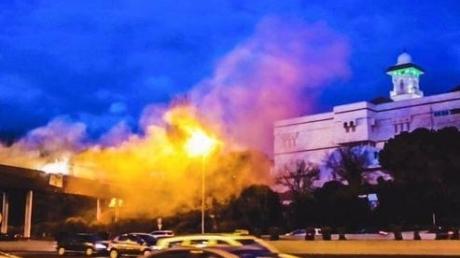 """""""Добро пожаловать, террористы"""": испанские неофашисты напали на крупнейшую мечеть в Мадриде"""