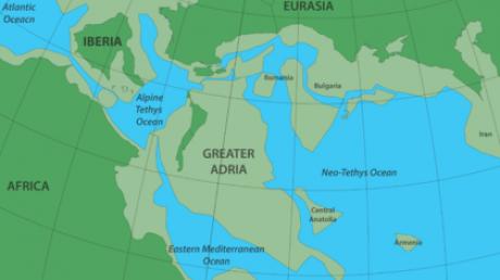 Большая Адрия, Затерянный, Материк, Гондвана, Ученые, Исследование,Европа
