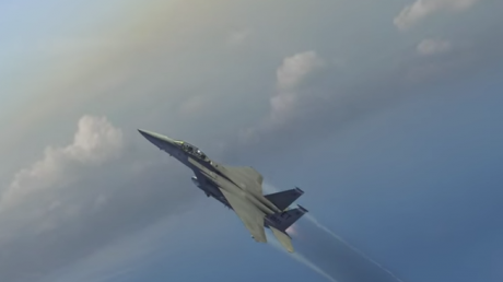 В космос спутники будут запускать с истребителей F-15 в следующем году