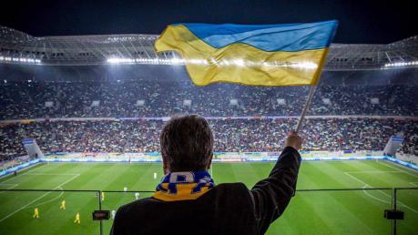 Порошенко, Украина, общество, политика, футбол, матч, фото, Люксембург